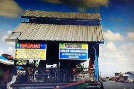 Posko COVID-19 Terapung di Kabupaten Kutai Kartanegara