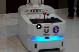 AUMR, robot pembunuh virus corona jenis baru