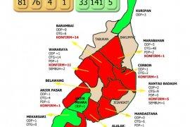 Kasus COVID-19 mulai rambah Kecamatan zona hijau