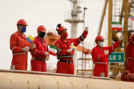 AS buru empat tanker Iran bawa minyak ke Venezuela