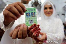 Sebanyak 2.303 pasangan menikah dalam masa pandemi COVID-19 di Aceh