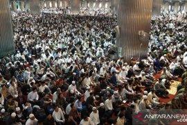 Dewan Masjid Indonesia : Kapasitas masjid 40 persen saat normal baru