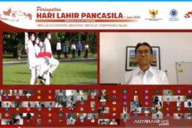 Rektor UGM berharap  Pancasila terus diaktualisasikan saat normal baru