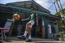 Sutan Zico menikmati TC virtual timnas U-19