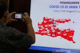 Jatim catat tambahan 100 pasien sembuh dari COVID-19, tertinggi selama pandemi