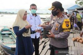 Polres Batola lakukan patroli dialogis disiplinkan masyarakat