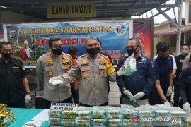 Polisi gagalkan peredaran 35 kilogram sabu-sabu Malaysia ke Medan