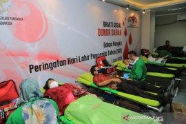 BPIP wujudkan Pancasila melalui donor darah