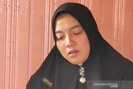 Istri almarhum : Brigadir Leo Nardo Latupapua merupakan suami terbaik dan tulus