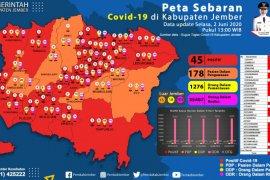 Pasutri di Jember terinfeksi COVID-19 setelah dari Surabaya