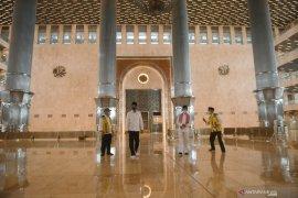 Presiden sebut kemungkinan Masjid Istiqlal dibuka kembali Juli 2020