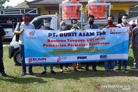 Empat BUMN sediakan fasilitas cuci tangan di Bangka Tengah