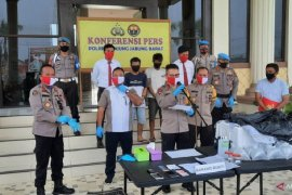 Polisi Jambi berhasil gagalkan penyelundupan benih lobster senilai Rp14,3 miliar