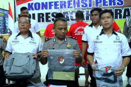 Empat terdakwa pengeroyok wartawan Kantor Berita ANTARA dituntut lima bulan penjara