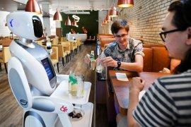 New normal, restoran Belanda jadikan robot  sebagai pramusaji