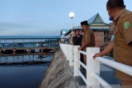 """Menikmati matahari tenggelam makin asyik di """"Waterfront City"""" Sungai Apit Siak"""