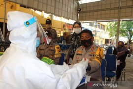 Ratusan Personel Polresta Banda Aceh jalani pemeriksaan COVID-19
