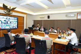 Bupati Banyuwangi paparkan skema normal baru kepada Kemendagri dan Kementerian PAN-RB