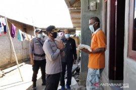 Polres Gorontalo Utara salurkan bantuan bahan pokok