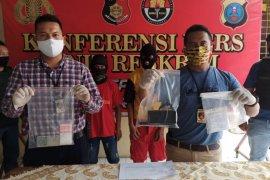 Polisi ringkus dua bandar narkotika di Medan