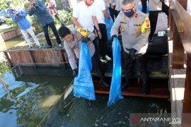 Polda tebar benih ikan gelorakan ketahanan pangan saat pandemi