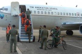 TNI AU-Badan SAR Nasional kerahkan pesawat intai cari kapal yang hilang di perairan Wanci