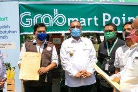 Grab gandeng PD Pasar Kota Medan luncurkan GrabMart, bantu masyarakat berbelanja online