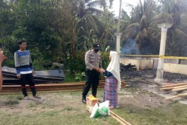 Rumah dan gudang bekas kilang padi di Aceh Utara ludes terbakar