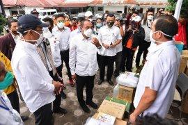Gubernur Sumut Edy Rahmayadi minta Humbang Hasundutan pertahankan zona hijau corona