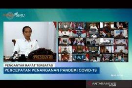 Presiden minta manajemen data COVID-19 diperbaiki