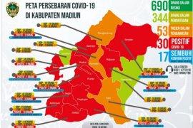 Delapan pasien positif COVID-19 di Kabupaten Madiun sembuh