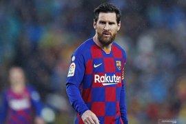 Messi alami cedera paha jelang restart La Liga