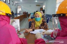Ratusan pegawai PD Pasar Medan jalani rapid test, 1 pegawai reaktif COVID-19