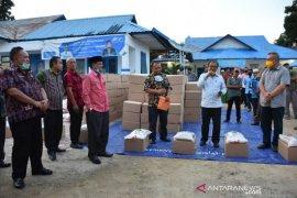 Delapan ton beras bantuan provinsi untuk Madina berjamur dikembalikan