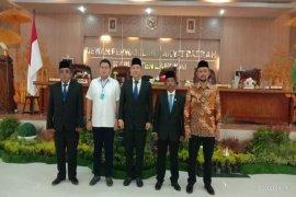 Safi'i dilantik jadi anggota DPRD Langkat