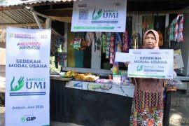 ACT Maluku bantu modal usaha pedagang kecil di Ambon