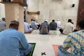 Sejumlah masjid di Banjarmasin ikuti protokol kesehatan gelar sholat Jumat