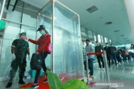 Penumpang angkutan udara Bangka Belitung turun 89,84 persen