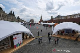 Moskow akhiri masa karantina meski kasus COVID-19 Rusia lampaui 485.000