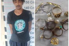 Curi emas dan uang orang tuanya, Uci ditangkap Polisi Pangkalan Brandan Langkat