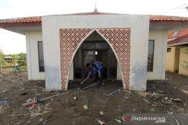 Dampak banjir rob di Indramayu
