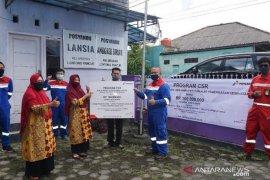 Pertamina salurkan peralatan kesehatan di Posyandu Pangkalpinang