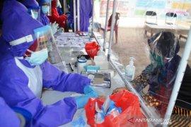 Hasil rapit test 19 pedagang Pasar Wangkang reaktif