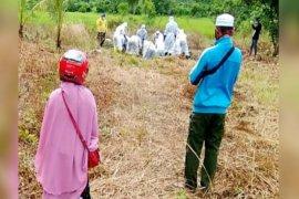 Terbukti negatif, keluarga tak bisa pindahkan makam jenazah PDP corona