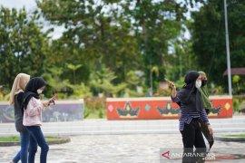 Warga mulai kunjungi Taman Budaya Limboto