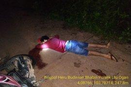 Polres OKU selidiki temuan mayat bersimbah darah di jalan
