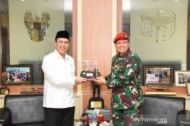 Kopassus-BNPT bahas sinergitas dalam penanggulangan terorisme