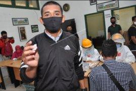 Pemain PSMS Medan tes cepat COVID-19