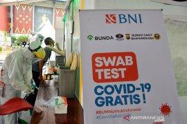 BNI gelar 2.000 pemeriksaan swab gratis di Jakabaring Palembang