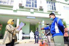 Reproduksi efektif corona di Kota Tangerang terus menurun angkanya